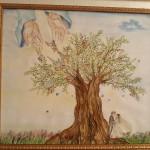 L'albero della Vita - Acquarello e gessetto 70X80 -